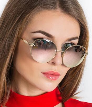 """Солнцезащитные женские очки """"Louis Vuitton"""" (реплика)"""