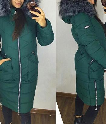 "Теплая куртка женская ""Зима"""