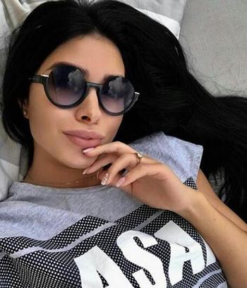 """Очки женские солнцезащитные """"Marc Jacobs 1"""" (реплика)"""