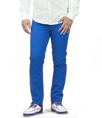 """Мужские брюки синего цвета """"Патрик"""""""