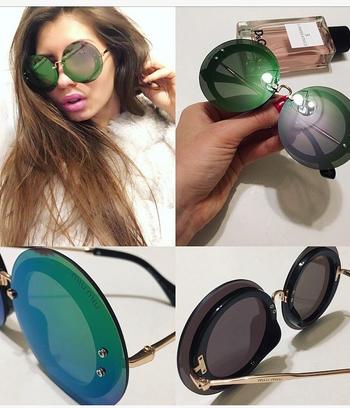 зеленые очки,  солнцезащитные очки