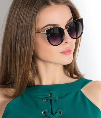 """Женские солнцезащитные очки Dior """"Кошки"""" (реплика)"""