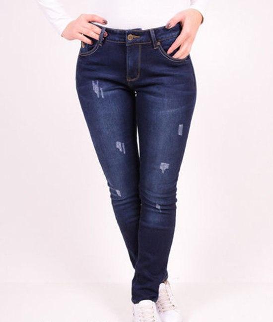 """Джинсы женские стрейчевые на флисе """"NewJeans"""""""