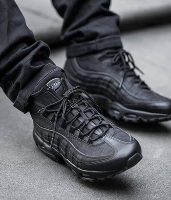 "Кроссовки мужские зимние ""Nike Air Max 95 Sneakerboot"""