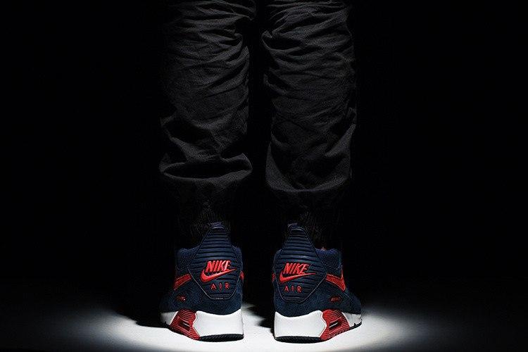 "Кроссовки мужские зимние ""Nike Air Max 90 Winter sneakerboot"""
