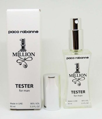 Тестер мужской Paco Rabanne 1 Million (Пако Рабанн 1 Миллион),60 мл