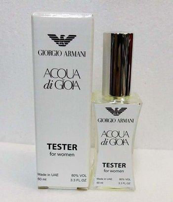 Тестер женский Giorgio Armani Aqua di Gioia (Армани Аква Ди Джио), 60 мл