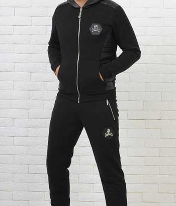 """Утепленный мужской спортивный костюм """"Philipp Plein"""""""