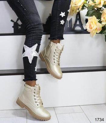 """Ботинки женские зимние """"Золото"""""""