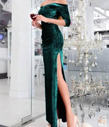 """Облегающее длинное платье """"Кармела"""""""