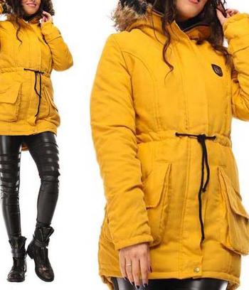 """Куртка парка женская """"Голливуд"""""""