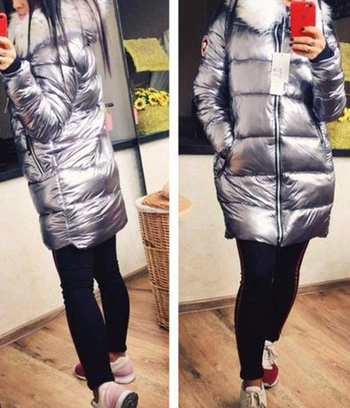 "Куртка-пальто зимняя ""Дейзи"""