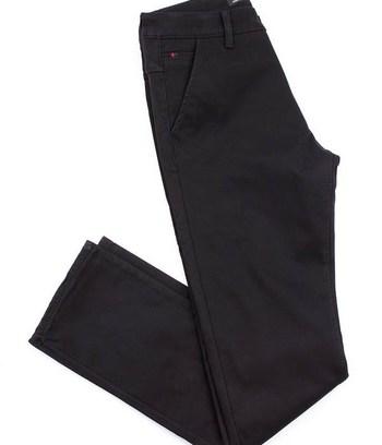 """Черные мужские джинсы теплые на флисе """"Derek"""""""
