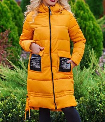 зимнее пальто, пальто на синтепоне