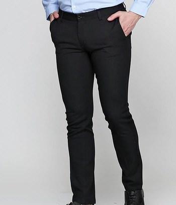 """Черные брюки мужские зауженные """"Джек"""""""
