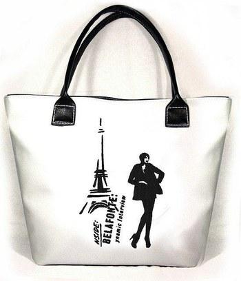 """Модная сумка """"Jennifer"""" с эксклюзивной вышивкой"""