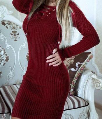 """Стильное трикотажное платье """"Meryl"""""""