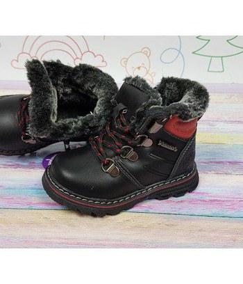 детские зимние тимбер ботинки