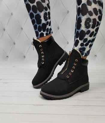 """Модные ботинки тимберленды зимние женские """"Алексис"""""""