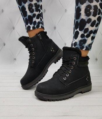 женские зимние ботинки тимберленды, ботинки из эконубука