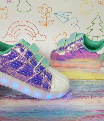 детские кроссовки, детские кроссовки с подсветкой
