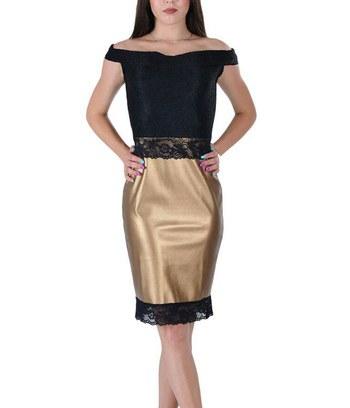 """Роскошное золотое вечернее платье """"Yvon"""""""