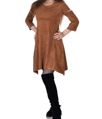 """Модное платье из экозамши """"Cameron"""""""