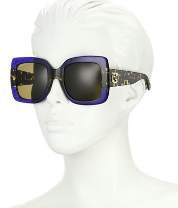 """Модные леопардовые солнцезащитные очки """"Gucci"""" (реплика)"""