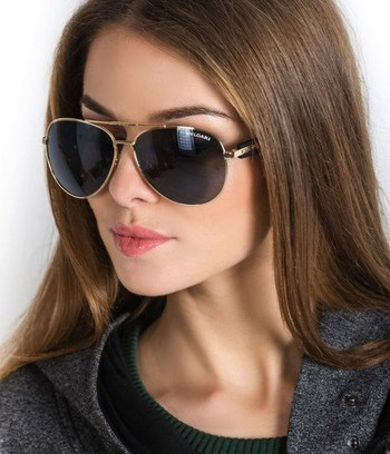 """Модные солнцезащитные очки капли """"Bvlgari"""" (реплика)"""