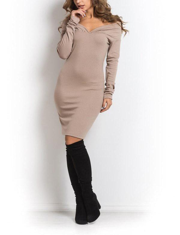 модные вечерние платья, платье футляр,