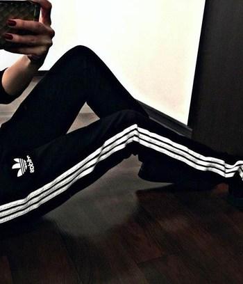 спортивные брюки адидас женские