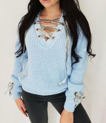 """Супермодный нарядный женский свитер """"Amelia"""""""