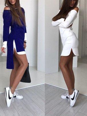 платье двойка, платье два в одном