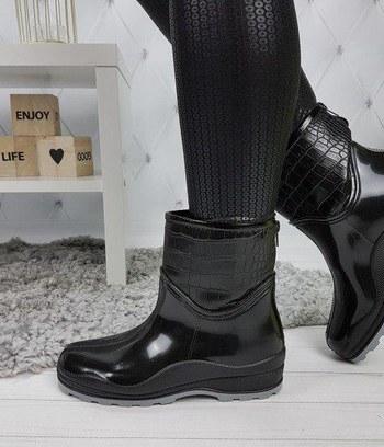 """Женские резиновые сапоги ботинки """"Эмили"""""""