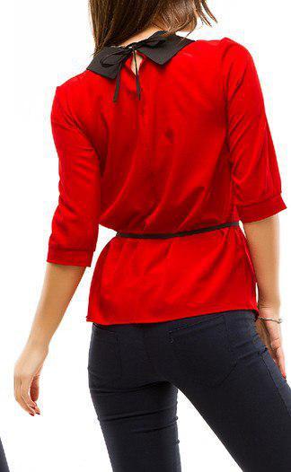 стильные классические блузы