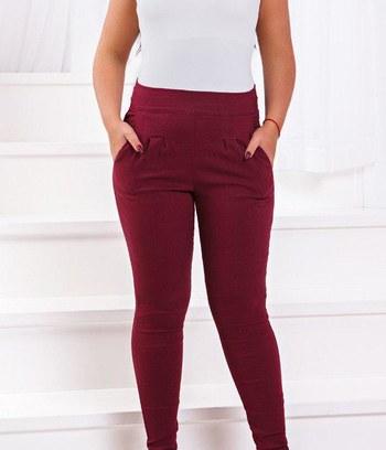 """Стильные женские брюки зауженные книзу """"Рита"""" большие размеры"""