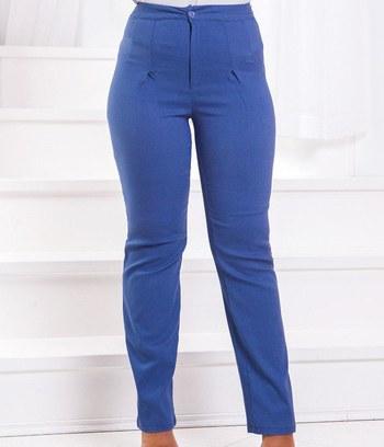 """Стильные женские брюки джинс """"Натали"""" большие размеры"""