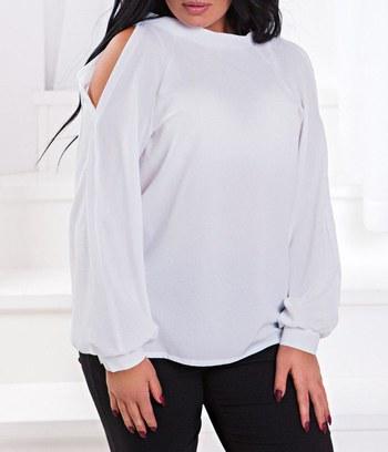 модные блузы больших размеров