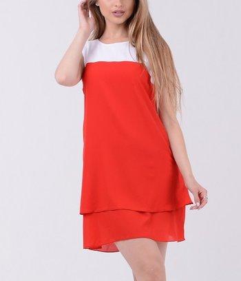 """Воздушное двухцветное платье """"Кэролайн"""""""