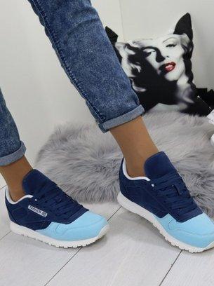 """Синие женские кроссовки (копия reebok classic) """"Fashion"""""""