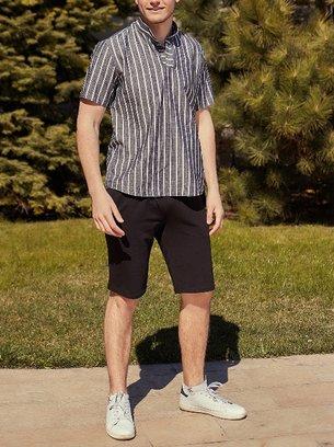 летний мужской костюм с рубашкой