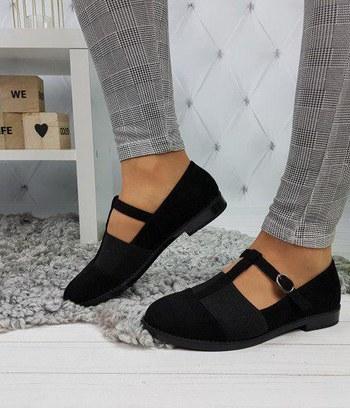 туфли женские на низком ходу, женские туфли из экозамши
