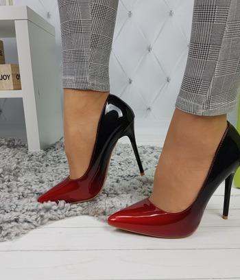 """Стильные женские туфли лаковые на шпильке """"Мари"""""""