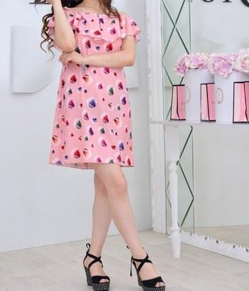"Легкое летнее платье ""Мороженко"""