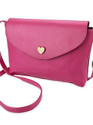 малиновая мини сумочка