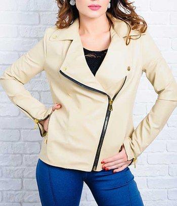 модная куртка больших размеров, стильная куртка из экокожи, куртки 2018-2019