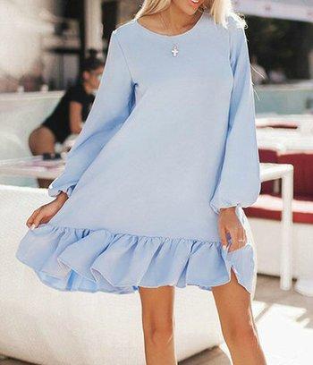 модные платья, шелковые платья, платья с оборкой, большие платья
