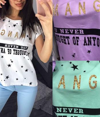 модные женские футболки, летние женские футболки из хлопка