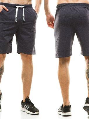 мужские шорты темно-синие