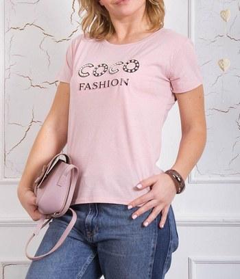 """Стильная брендовая женская футболка из хлопка """"COCO"""""""